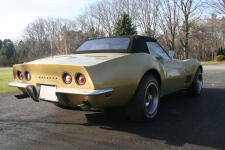 1969 Corvette Stingray Back Right Corner