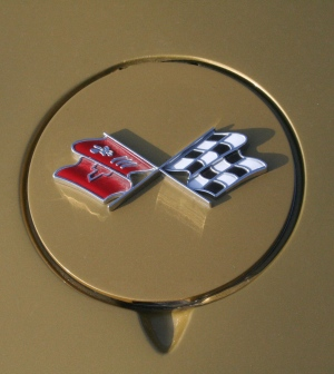 1969 Corvette Stingray Emblem