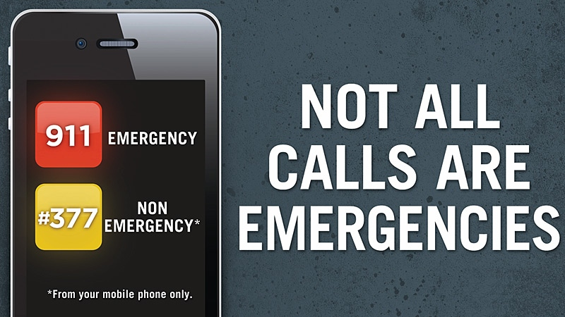 Part of a new campaign to raise awareness on when to call 911, includes increasing Edmontonians' awareness of the #377 number, which can be dialed, for free, from any mobile phone to reach the Edmonton Police Service's non-emergency complaint line.