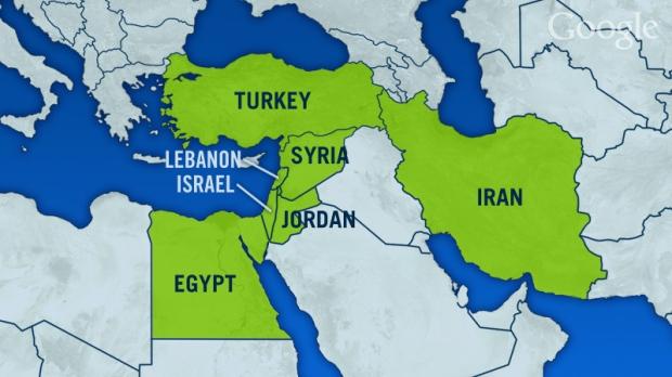 Israel's neighbours