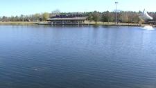 Hawrelak Park lake, generic