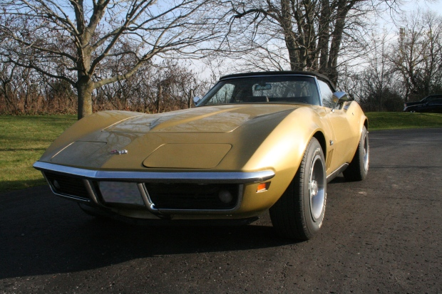 1969 Corvette Stingray Front No Lights
