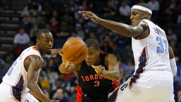 Raptors lose to Charlotte Bobcats