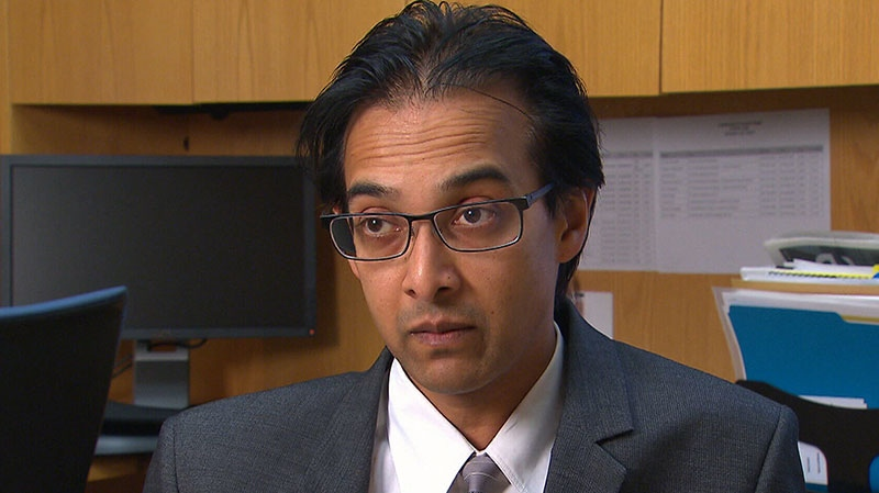 Dr. Derek Muradali, chief radiologist of the Ontario Breast Screening Program at Cancer Care Ontario, speaks to CTV News.