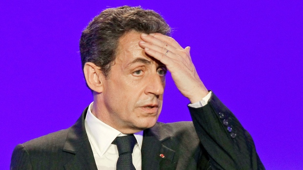 Nicolas Sarkozy court illegal donations