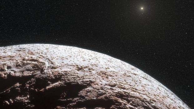 Dwarf planet Makemake
