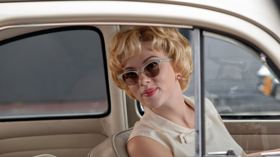 Scarlett Johansson as Janet Leigh in Fox Searchlight Pictures' 'Hitchcock'