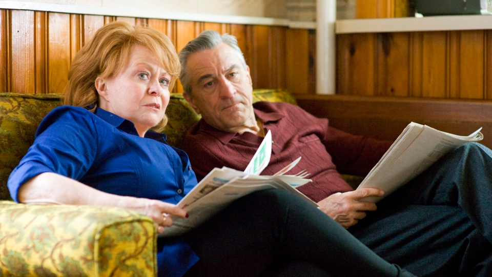 Jacki Weaver, left, and Robert De Niro in Alliance Films' 'Silver Linings Playbook'