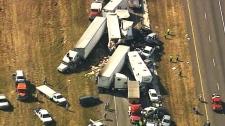 Massive Texas crash