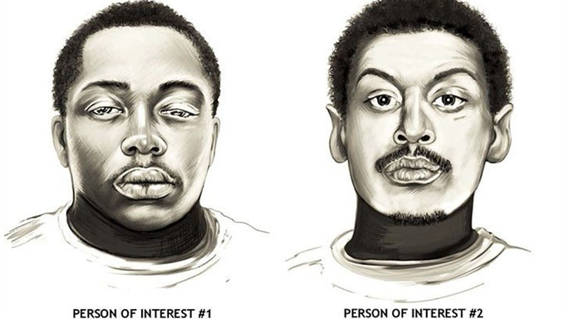 Police have identified the man in composite #1 but are still seeking the full name of composite #2, who is believed to have the street name 'Juvi.'