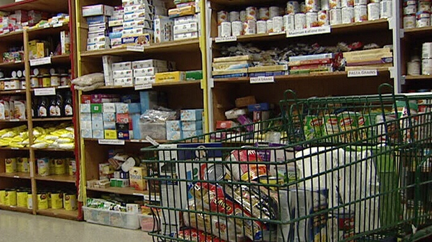 The Kanata Food Cupboard says it's seeing new customers because of the NHL lockout Thursday, Nov. 22, 2012.