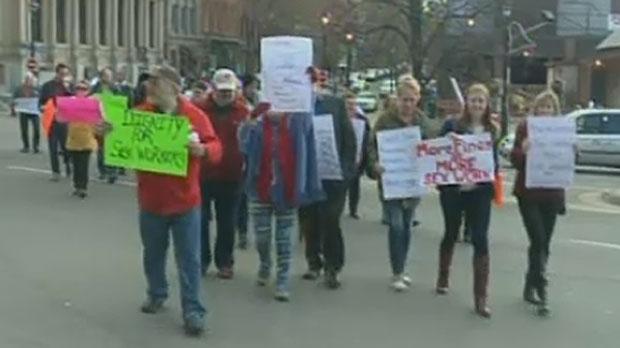 jaywalk protest