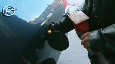 All drivers said on Friday, Nov. 12, 2010 that the rising gas prices would cut into their budgets.