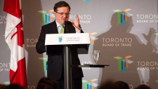 Finance Minister Jim Flaherty Nov. 22, 2012