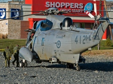 Miltary helicopter makes emergency landing in N.S.