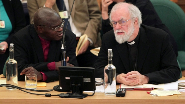 Church of England bans female bishops