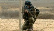 Israel shooting Gaza  Palestinian