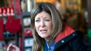 Joan Crockatt, the Conservative candidate for the Calgary Centre federal byelection, is shown on Nov. 22, 2012. (Larry MacDougal / THE CANADIAN PRESS)