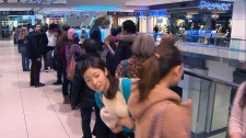 Black Friday Toronto Eaton Centre