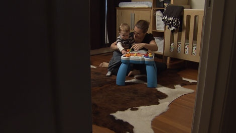 Shelley Deacon was conceived using donated sperm, and she is hoping that a lawsuit in B.C. Supreme Court will pave the way for learning the identity of her biological father. Nov. 12, 2010. (CTV)
