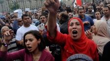 Egypt protesters Morsi Tahrir Square
