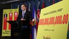 Canadian debt clock