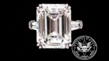 This undated picture made available by Proxibid, Gaston and Sheehan and the U.S. Marshals Service shows a ladies diamond engagement ring, part of thousands of belongings from Bernard Madoff's New York City penthouse on the auction block in New York on Saturday, Nov. 13, 2010. (AP / Proxibid, Gaston and Sheehan, U.S. Marshals Service)