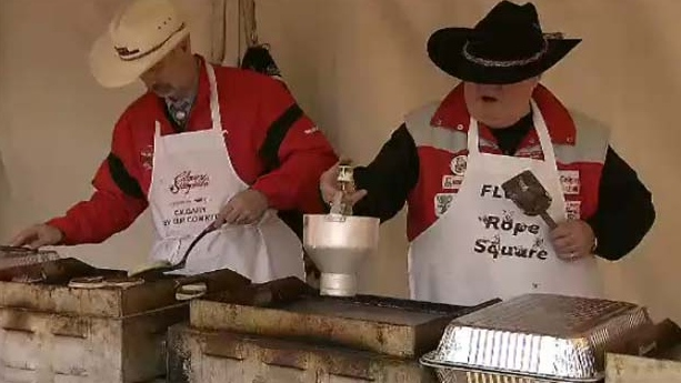 A pancake breakfast was held in downtown Toronto on Friday, Nov 23, 2012.
