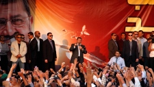 Egyptian President Morsi clashes Nov. 23, 2012