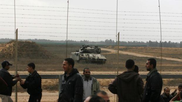 Gaza border with Israel, Nov. 23, 2012.
