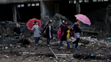 Children return to school after Israeli ceasefire
