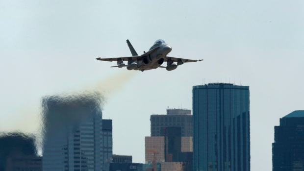 Canada in talks to replace CF-18 jets
