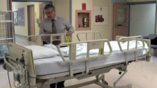 Concerns over safety of patients in hospital beds