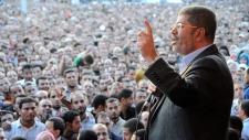 Morsi in Cairo on Nov. 23, 2012.