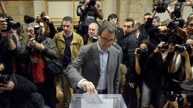 Election in Catalan region of Spain