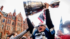 CFL fans flock to Toronto for the Grey Cup
