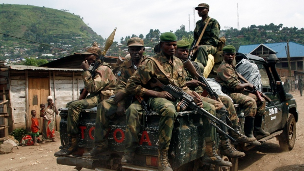 Leaders call for end of Congo rebel stronghold