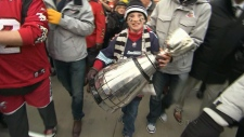 CTV Toronto: CFL fans carry Grey Cup