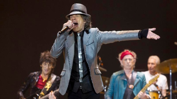 Rolling Stones mark 50th anniversary