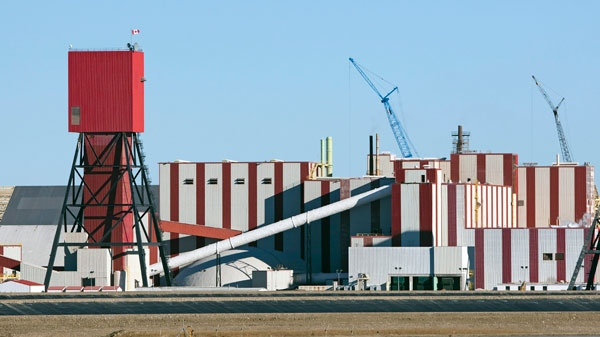 The exterior of the Potash Corp. plant near Rocanville, Sask., about 250 kilometres east of Regina, is shown on Wednesday Nov. 3, 2010. (Troy Fleece / THE CANADIAN PRESS)