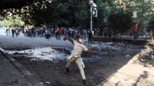 Egypt protesters Morsi clashes police