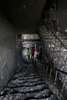 Factory fire  Dhaka, Bangladesh
