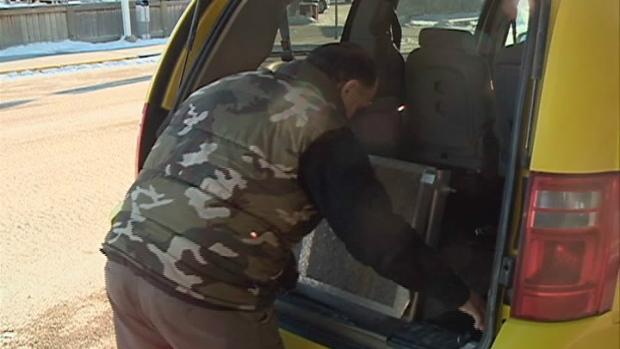 Saskatoon accessible taxi cab licenses