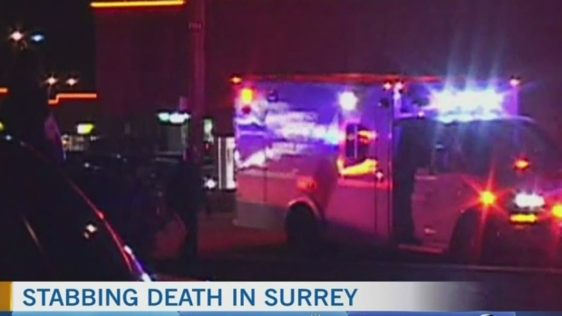 Surrey stabbing