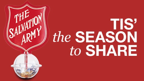 Salvation Army Christmas Kettle Campaign 2010