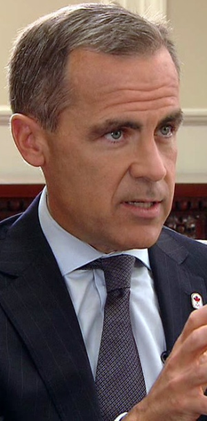 Carney asked about heading up Bank of England in e