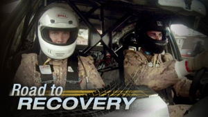 The incredible story of two soldiers -- Corporal Andrew Knisley and Master Corporal Jody Mitic -- who refuse to let their horrendous injuries slow them down from taking part in an endurance rally race for a good cause.