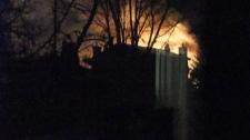 River Park South fire