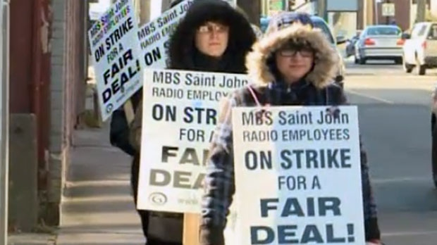 Seven Maritime Broadcasting Systems employees are heading into their sixth month of being on strike in Saint John.
