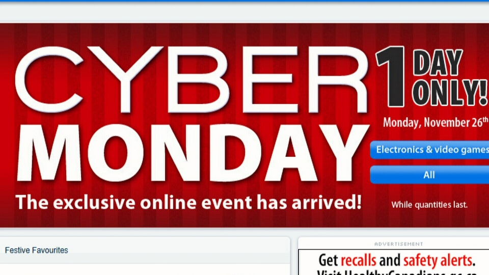 Shoppers were expected to spend 20 per cent more on Cyber Monday 2012, totaling $1.5 billion in North American online sales in just one day.